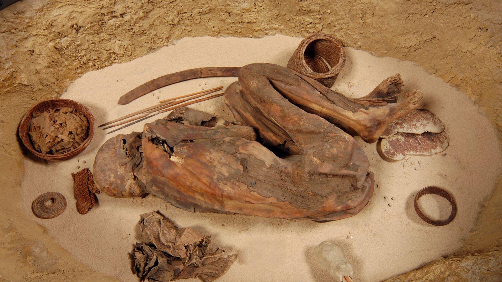 Alors que les scientifiques pensaient depuis longtemps que les momies préhistoriques d'Égypte étaient le résultat d'un ...