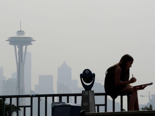 Seattle et Portland, villes les plus polluées au monde suite à plusieurs séries d'incendies