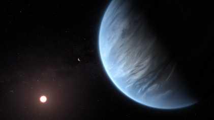 De l'eau détectée sur une exoplanète potentiellement habitable