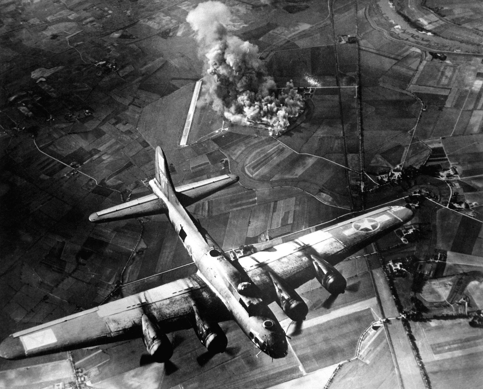 Les explosions causées par les bombardements alliés ont eu un impact sur plus de 160km de hauteur.