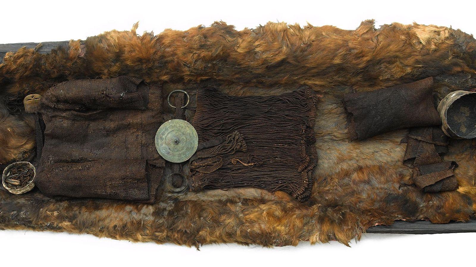 Photo d'une jeune fille préservée pendant plus de 3000 ans