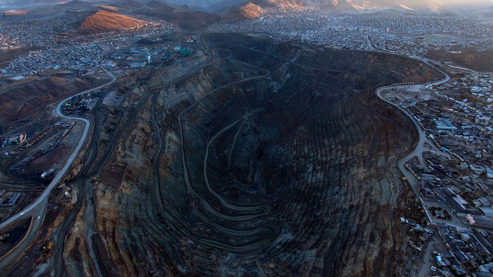 Mine volcan