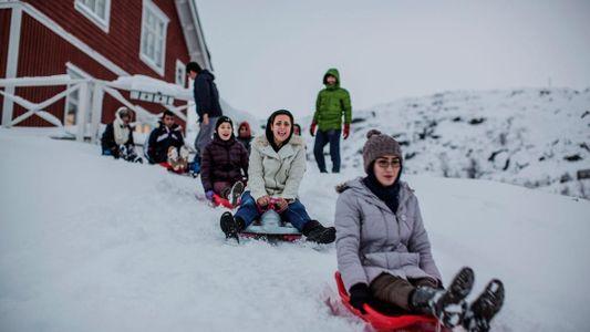 Découvrez la vie des réfugiés au nord du cercle polaire