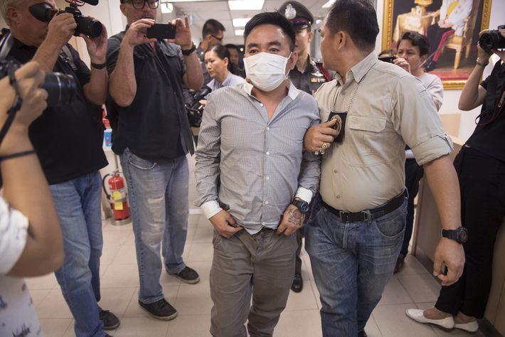 L'arrestation de Boonchai Bach en janvier 2018 à Bangkok avait été saluée par les défenseurs des ...