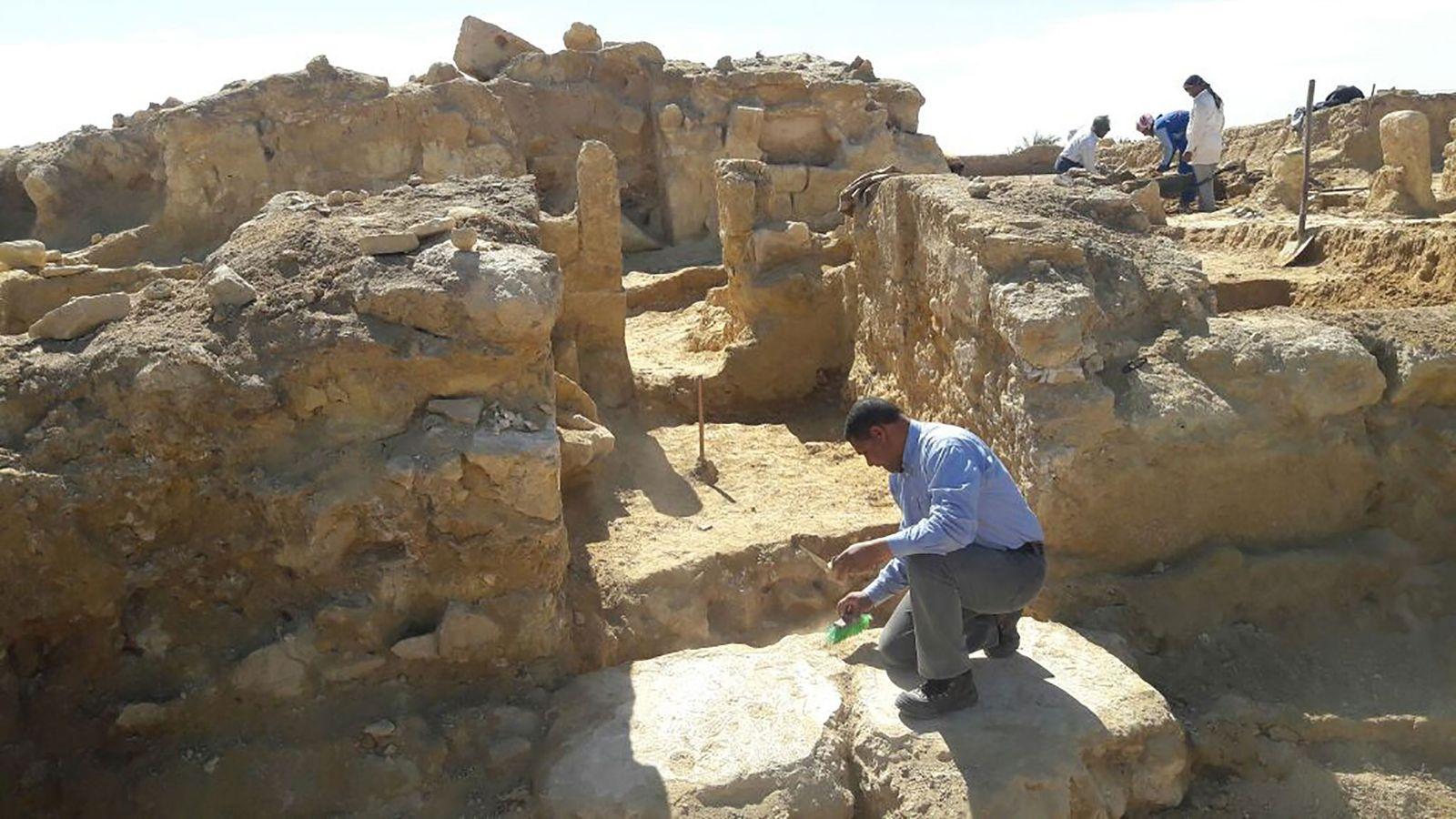 Un nouveau temple gréco-romain a été mis au jour dans le désert occidental égyptien.