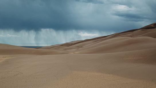 Parc national de Great Sand Dunes, Colorado