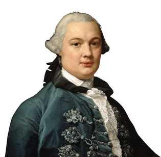 James Bruce peint par Pompeo Girolamo Batoni en 1762. Galerie nationale d'Écosse, Édimbourg.
