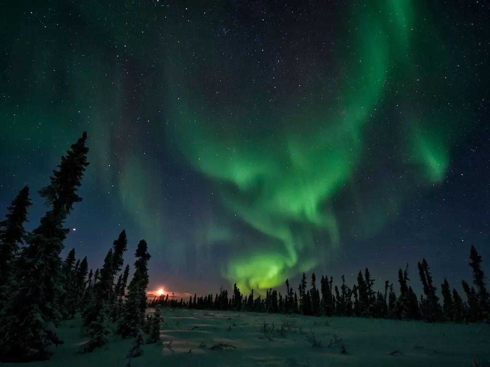Si les pôles terrestres s'inversaient et que le champ magnétique s'affaiblissait, nous pourrions voir des aurores ...