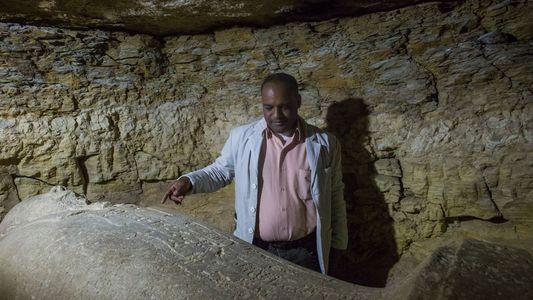 Plongée dans une ancienne nécropole égyptienne
