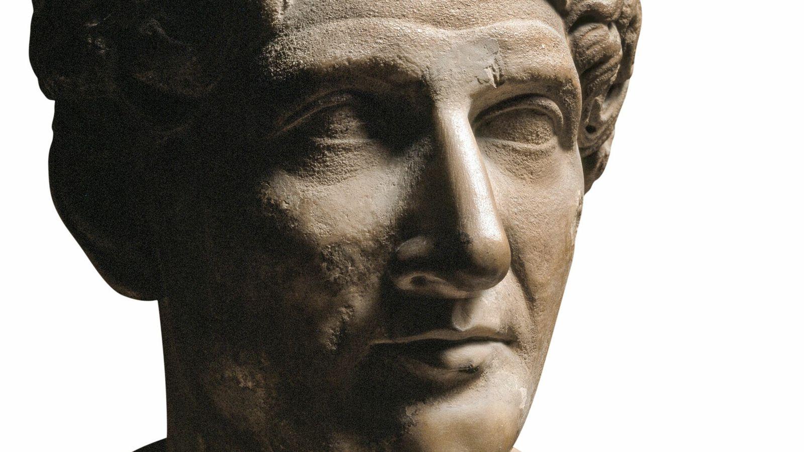 Ovide, buste en marbre du premier siècle. Musée des Offices, Florence