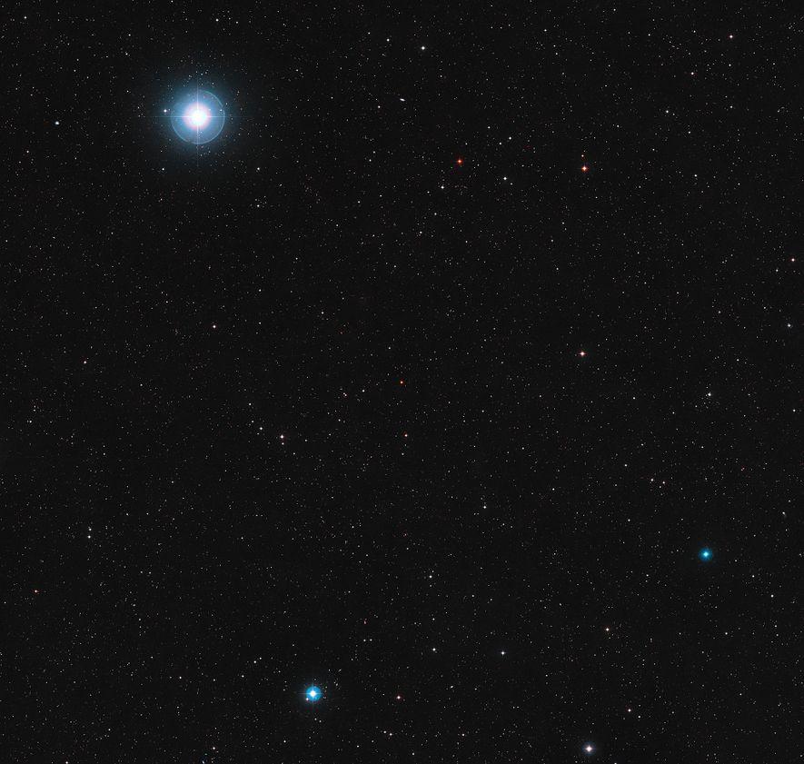 La naine rouge Ross 128 se situe dans la constellation de la Vierge.