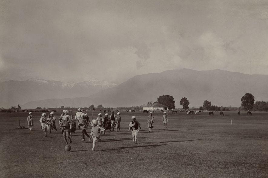 Photographie : le football à travers les âges