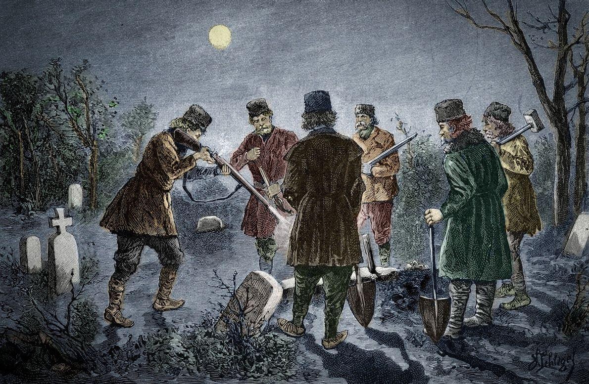Vampires : une macabre découverte nous apprend comment les chasseurs identifiaient leurs cibles