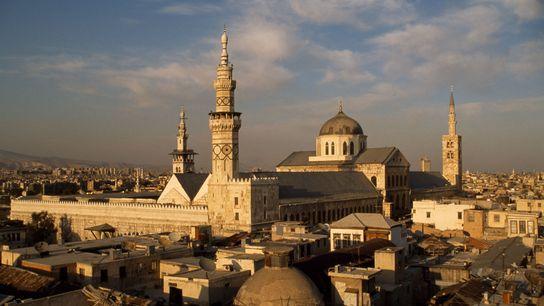 La Grande Mosquée des Omeyyades de Damas a été construite il y a 1 300 ans, ...