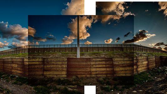 Nous sommes allés voir le mur séparant les États-Unis du Mexique. Voici à quoi il ressemble