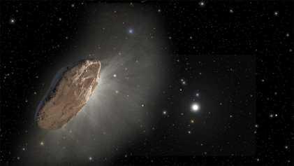 Détection d'une étrange comète interstellaire en approche de notre système solaire