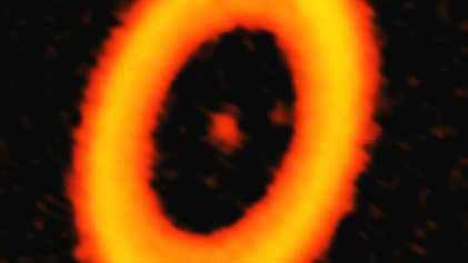 La formation d'une exolune aurait été photographiée pour la première fois