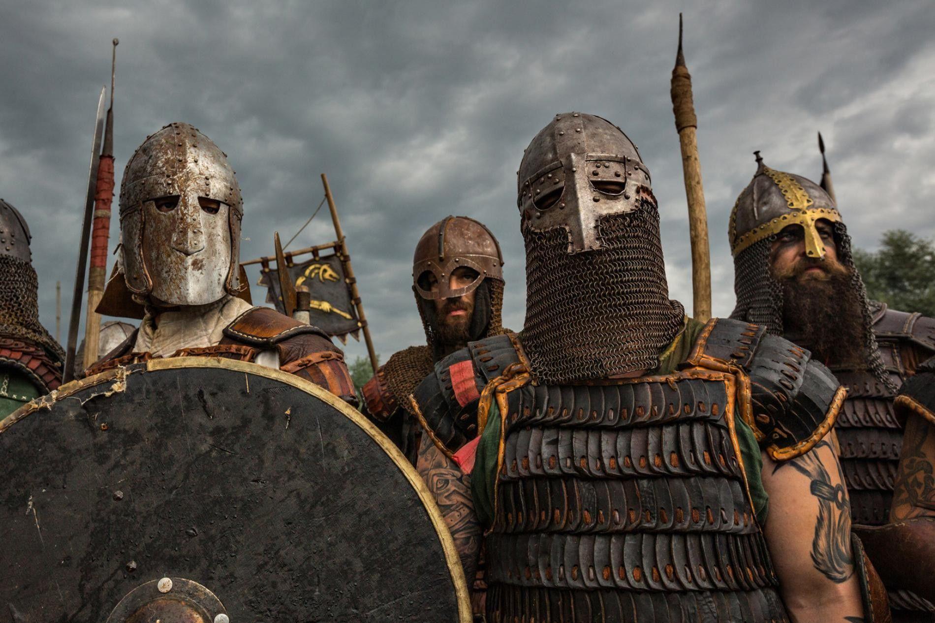 Des recréateurs de combats vikings se réunissent en Pologne. Les Vikings s'étaient fait une solide et ...