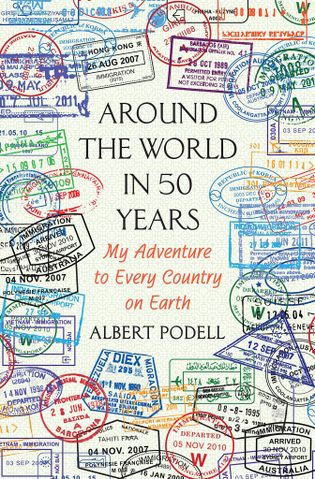 Photo de la couverture de l'ouvrage Around the World in 50 Years d'Albert Podell