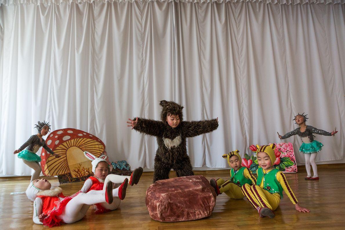 Le théâtre des enfants