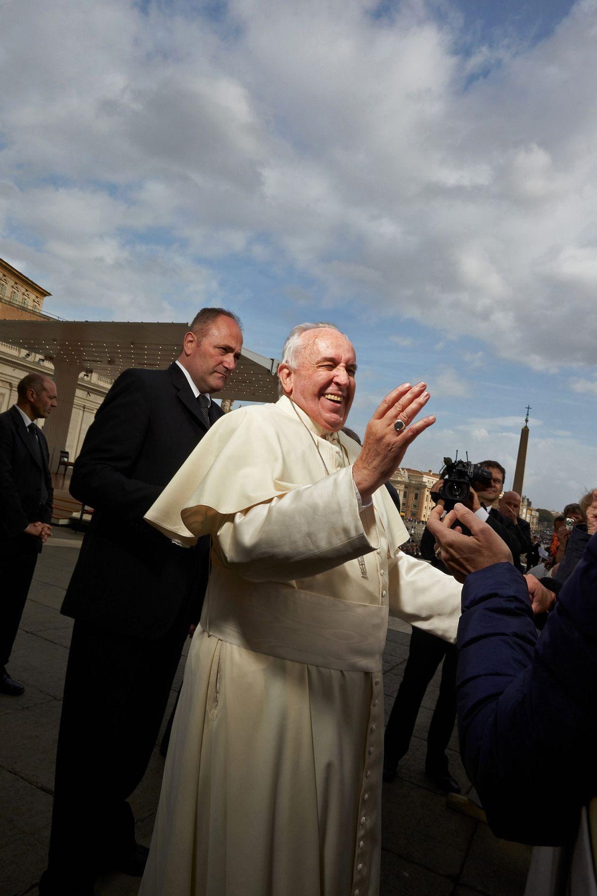 Gloussement pontifical