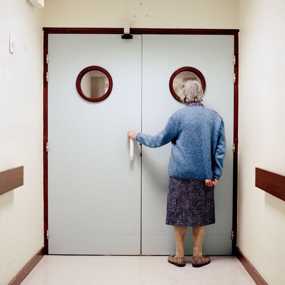 13 photos sur le quotidien de patients atteints d'Alzheimer