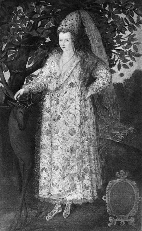 Le sujet de ce tableau de Marcus Gheeraerts le Jeune pourrait être la première femme musulmane ...