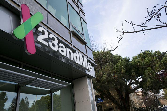 Le siège social de 23andMe à Mountain View, en Californie.