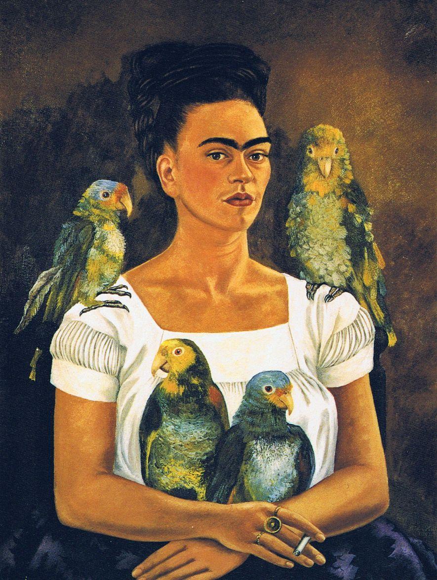C'est grâce à ses auto-portraits que Frida Kahlo est devenue si renommée dans le monde.