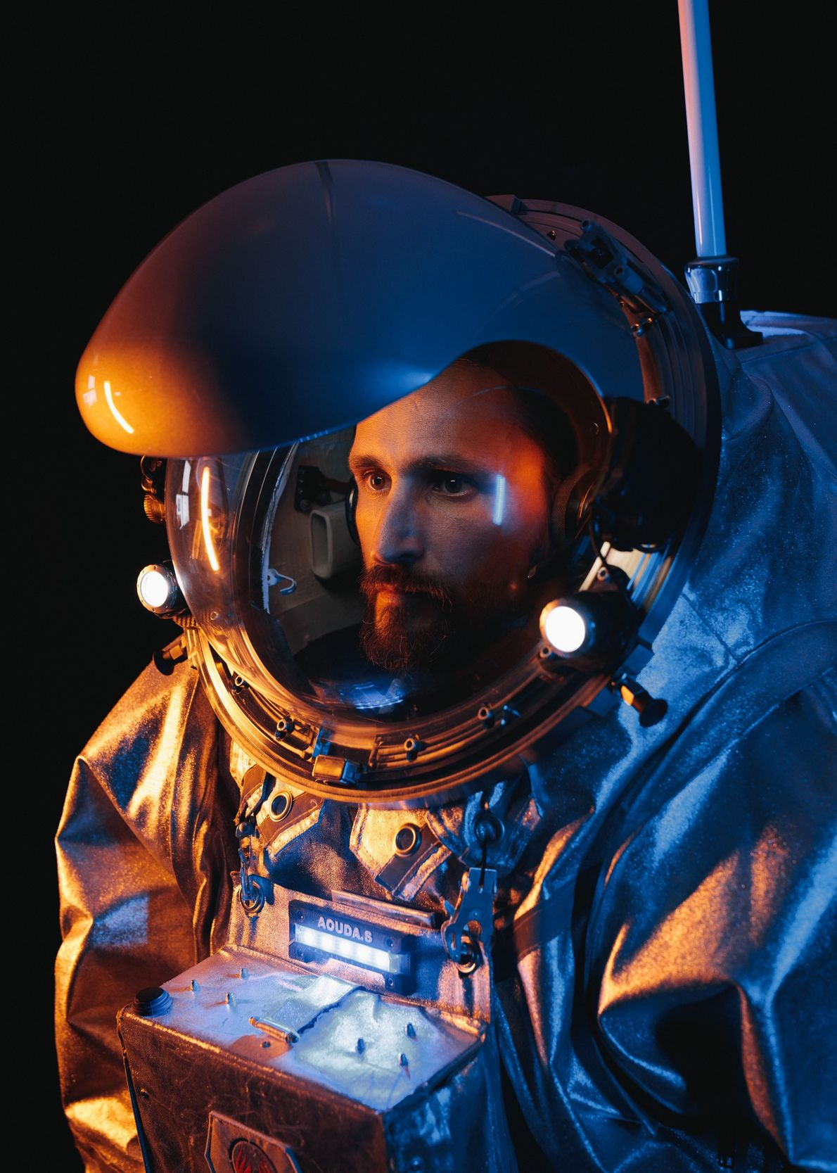 Iñigo Muñoz Elorza, « astronaute analogue » de la mission AMADEE-18, est instructeur au Centre européen ...