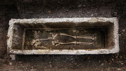 Découverte d'une femme mystérieuse dans un des premiers cimetières paléochrétiens