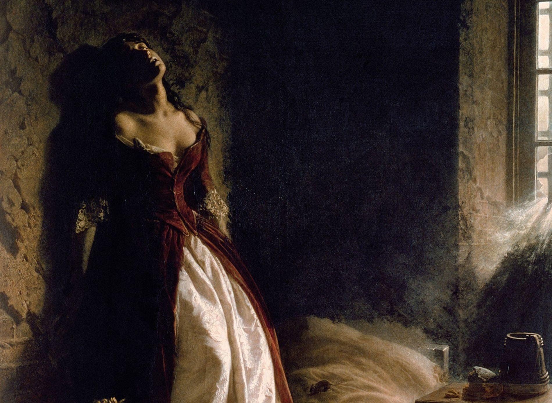 En 1864, l'artiste russe Konstantin Flavitsky a représenté « La princesse Tarakanova dans la forteresse Pierre-et-Paul, ...
