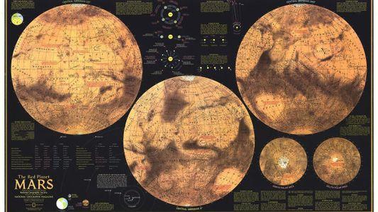 Les rapprochements Mars-Terre nous ont aidé à cartographier la planète rouge
