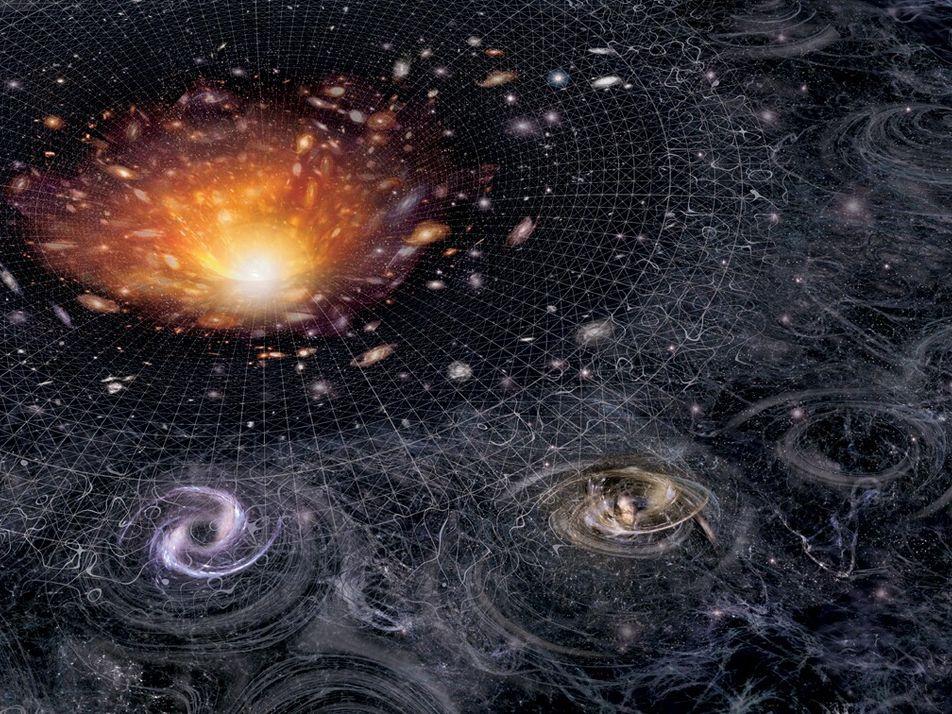 Au-delà du Big Bang, l'évolution de l'univers selon Einstein