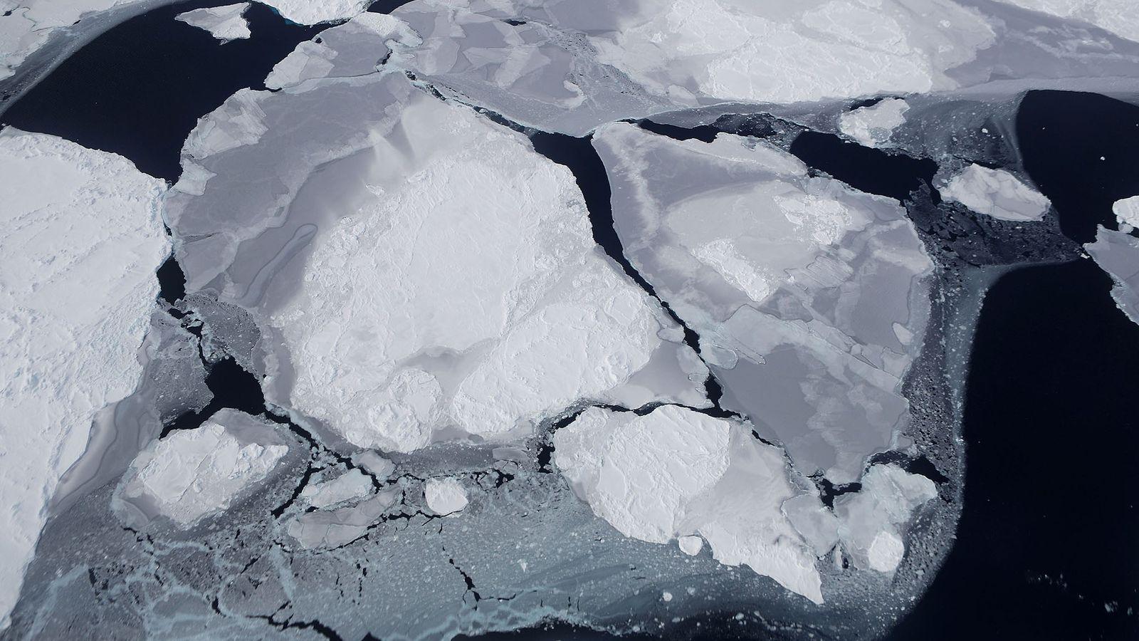 L'effrondrement et la fonte de l'inlandsis Ouest-Antarctique va déterminer à quelle vitesse le niveau de la ...
