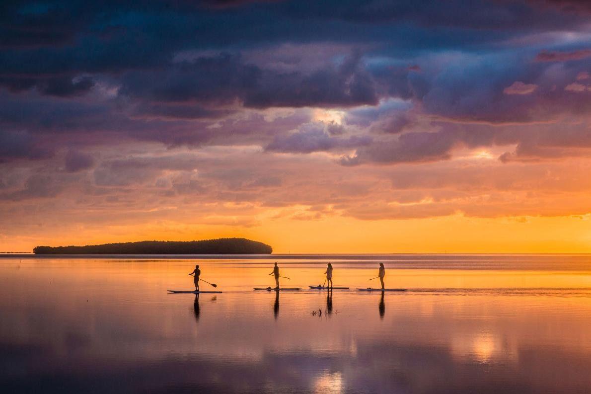 « Je participais à une séance photo de groupe consacrée au lever du soleil à Miami. ...