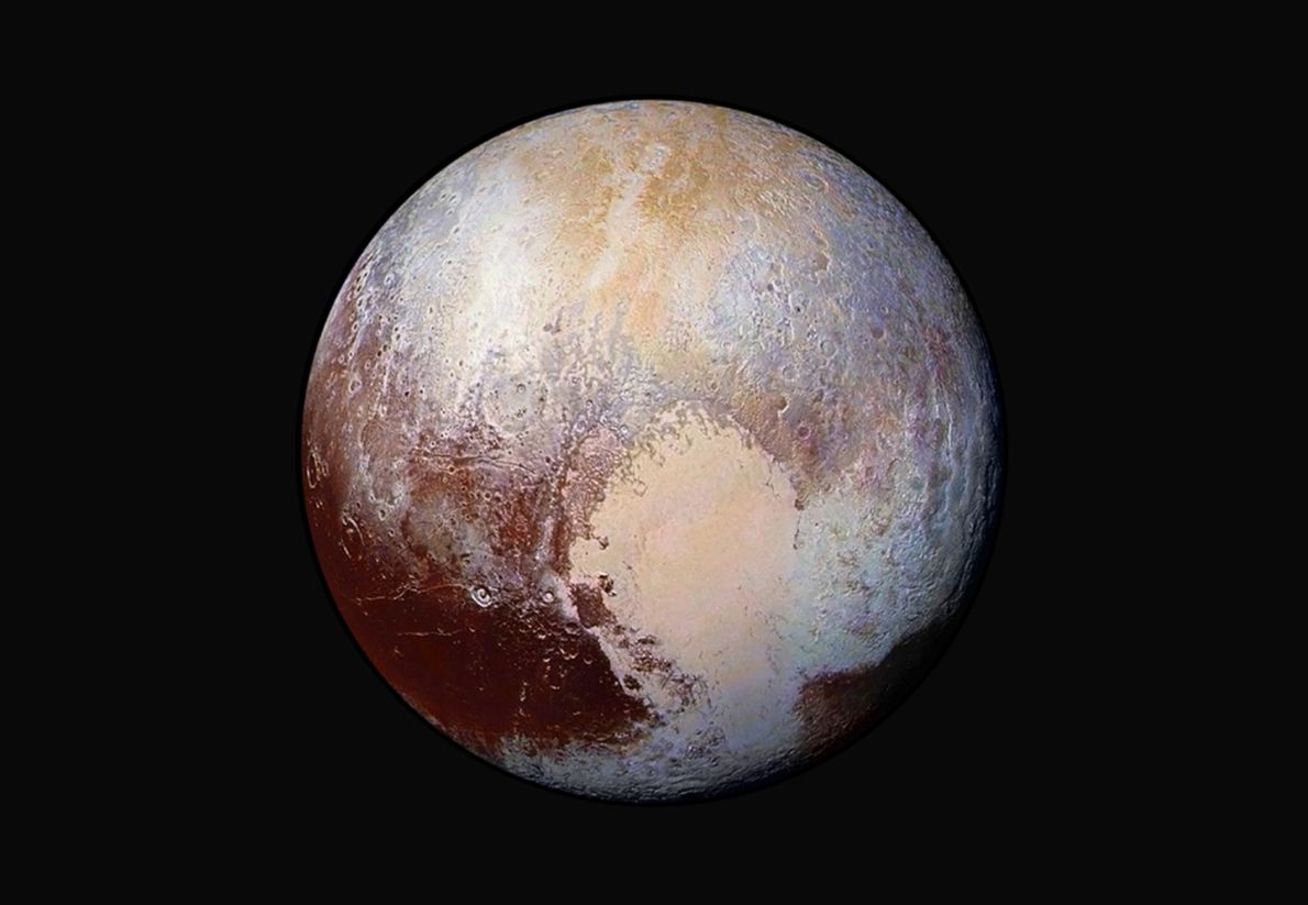 Image de la surface de Pluton
