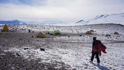 À la recherche des forêts préhistoriques de l'Antarctique