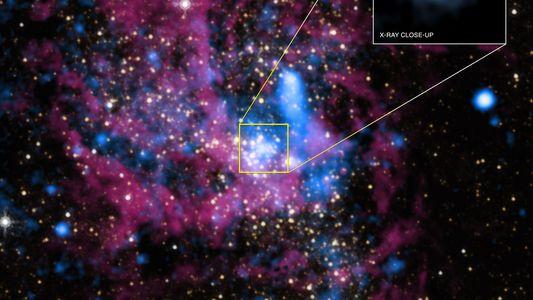 Le centre de la Voie lactée serait peuplé de milliers de trous noirs