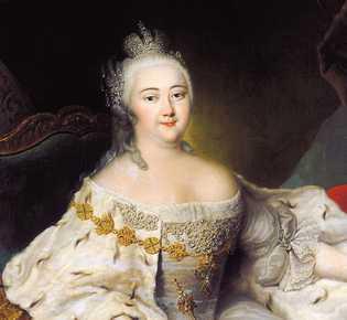 Elisabeth Ire de Russie (1709-1762), Musée de l'Hermitage, St. Pétersbourg