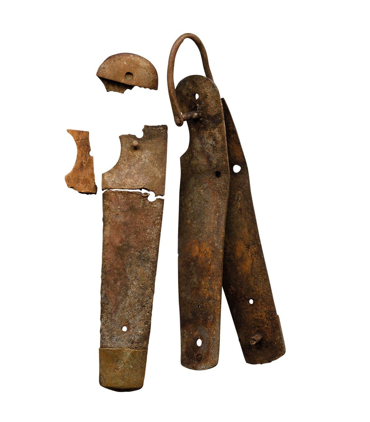 Un couteau de poche qui aurait pu se révéler très utile pour des naufragés.