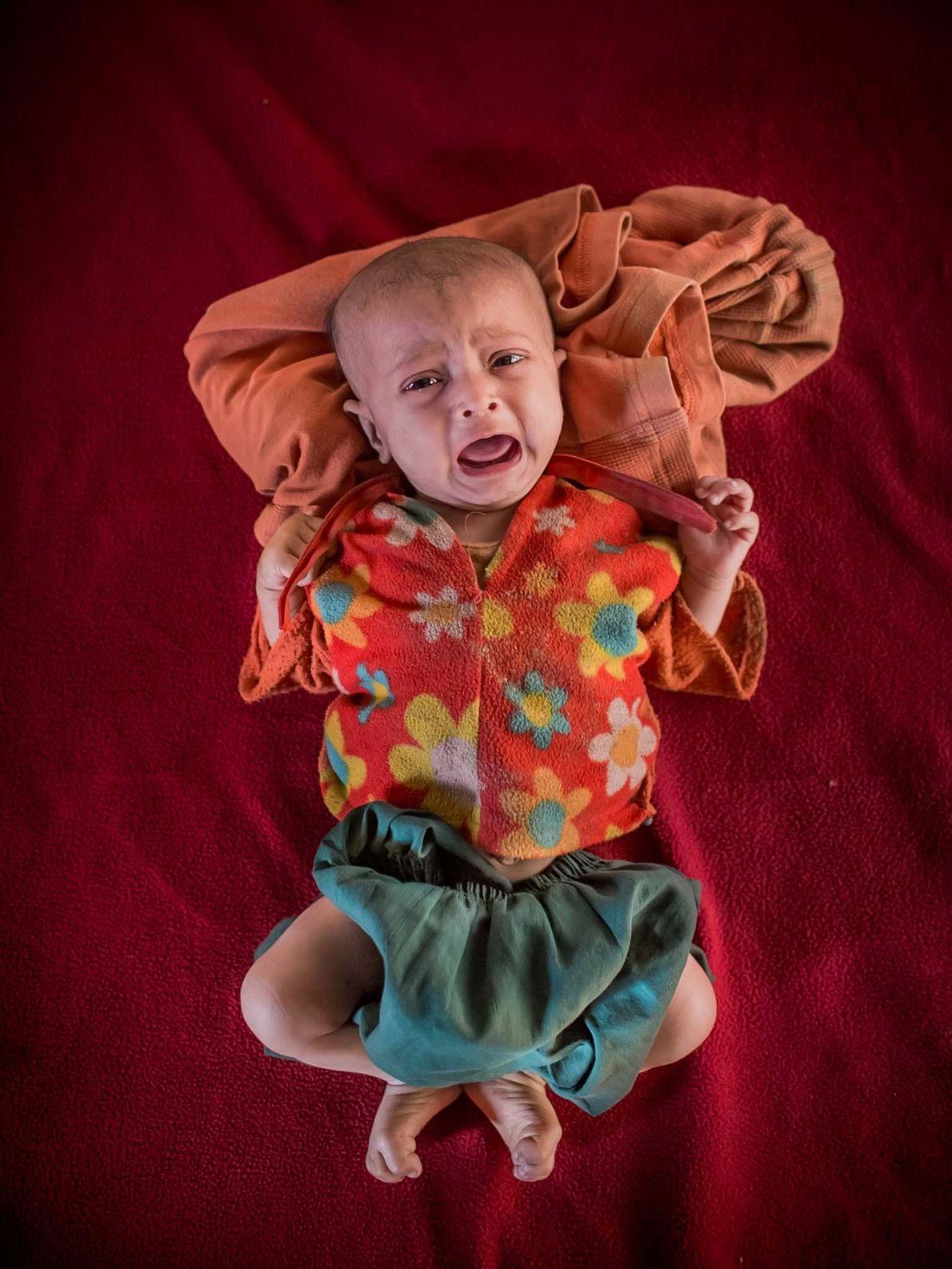 Shahida, deux mois.