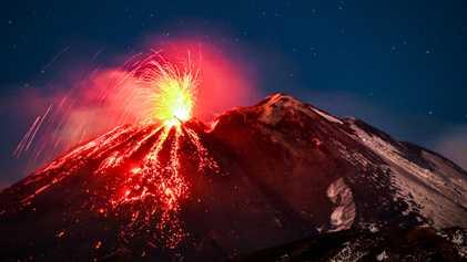 Les volcans, ces forces de la nature