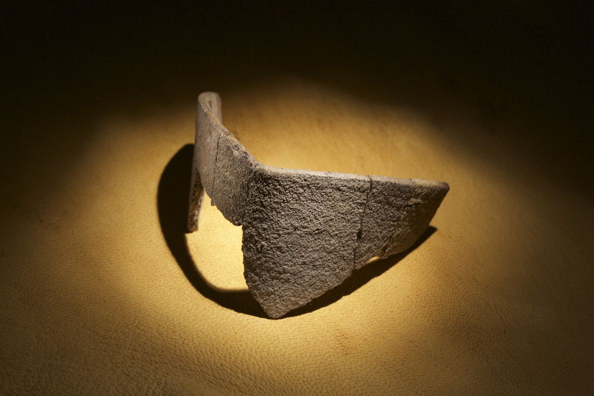 Image d'un creuset d'origine européenne