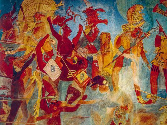 """Découverte : les Mayas étaient des adeptes de la """"guerre totale"""""""