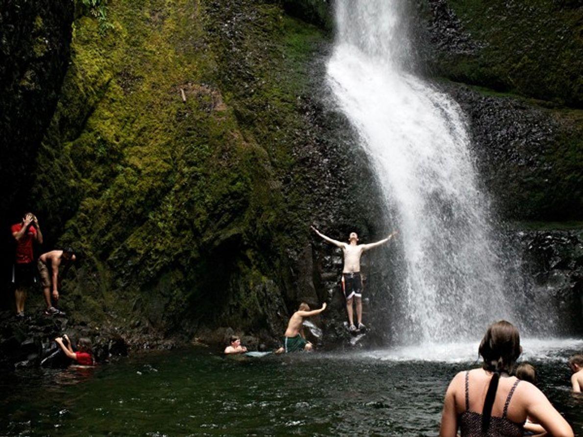Oregon: Une ride à l'heure