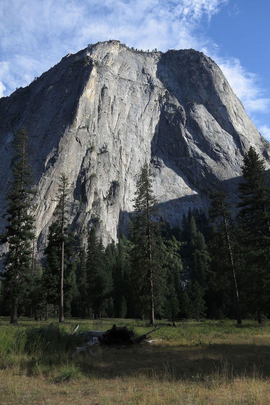 El Capitan, à Yosemite, est un défi de choix pour les adeptes du solo libre comme ...