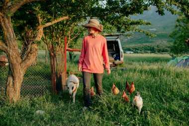 Dona Tabacu est propriétaire d'un petit camping écologique avec son mari, Robert, près de Përmet. Elle ...