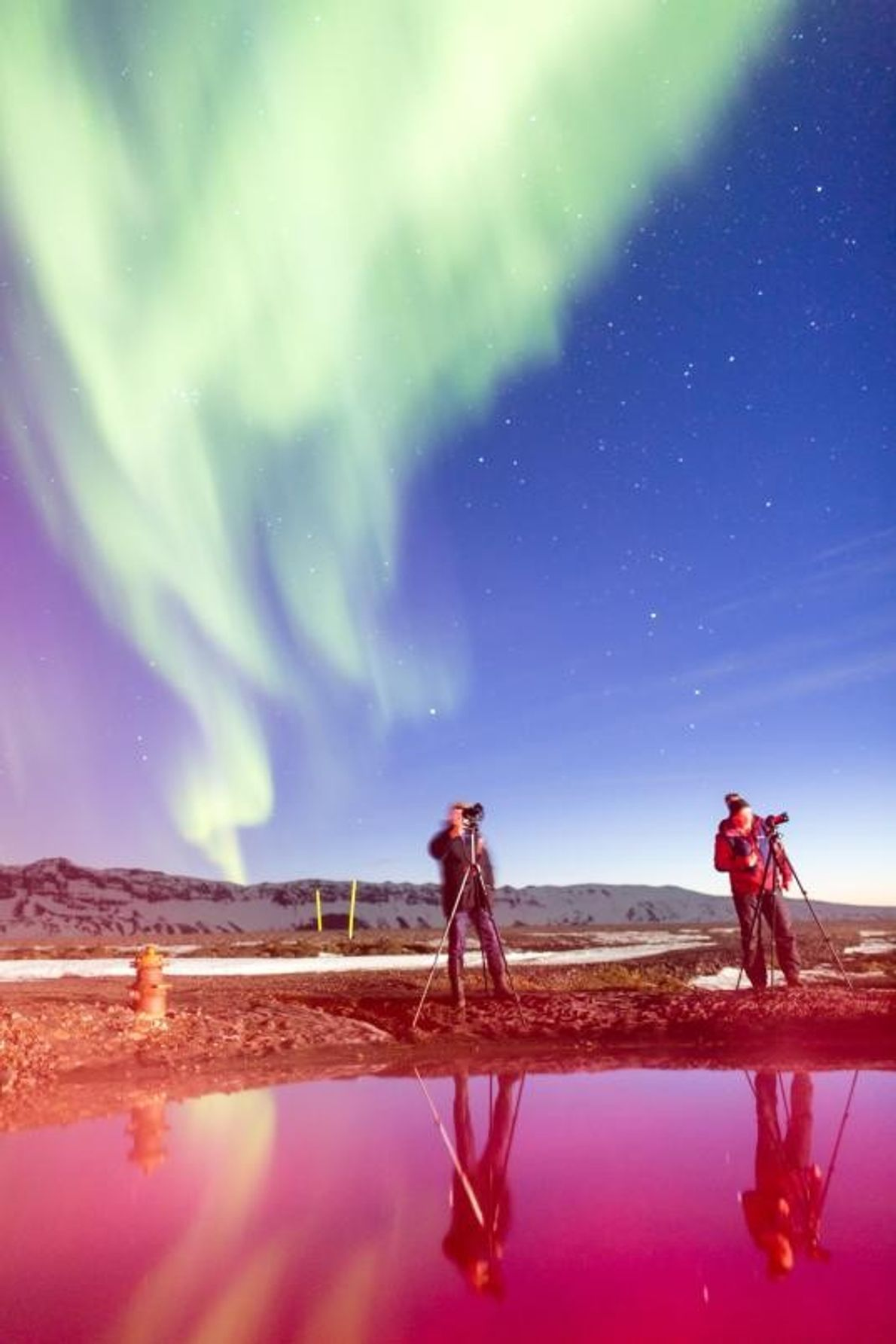Chasseurs d'aurore nocturnes, Gaukur Hjartarson est ingénieur civil tandis que son frère Hreinn Hjartarson est chef ...