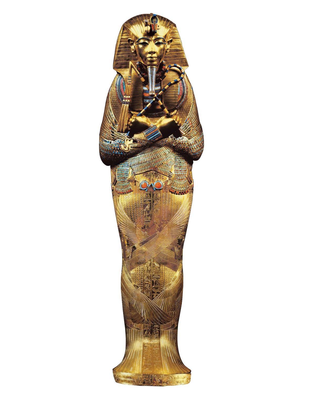 Le cercueil le plus profond était une « masse incroyable d'or pur ». À l'intérieur se ...